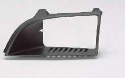 Aftermarket HEADLIGHT DOOR/BEZEL for GEO - METRO, METRO,89-94,LEFT HANDSIDE H/L DOOR BLACK
