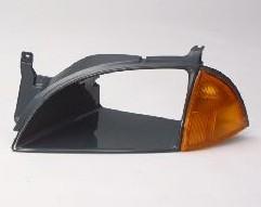 Aftermarket HEADLIGHT DOOR/BEZEL for GEO - METRO, METRO,95-7,LEFT HANDSIDE H/L DOOR ARG
