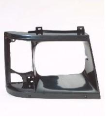 Aftermarket HEADLIGHT DOOR/BEZEL for CHEVROLET - ASTRO VAN, ASTRO,85-94,RIGHT HANDSIDE H/L DOOR BLACK