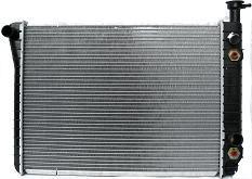 Aftermarket RADIATORS for CHEVROLET - ASTRO VAN, ASTRO,85-94,RADIATOR 4.3 W/O